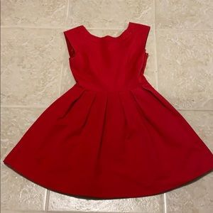 Zara Red Dress